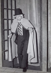 David Browning as Scrooge